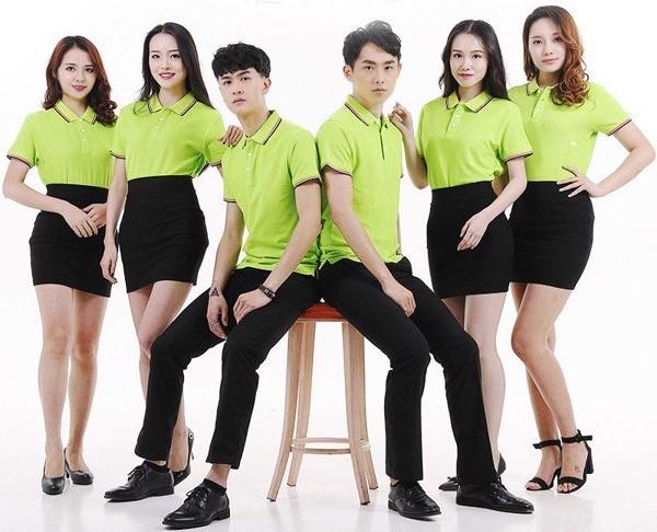 Huy Sơ Mi - xưởng sản xuất may áo thun đồng phục