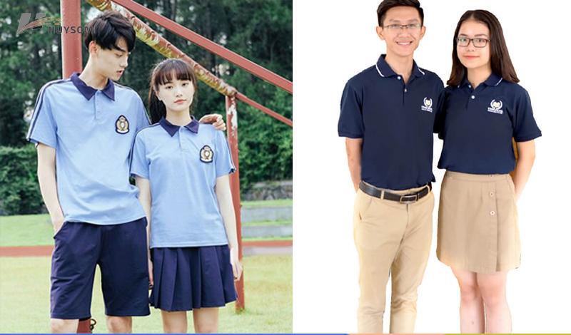 Áo đồng phục học sinh cấp 2 ở TPHCM