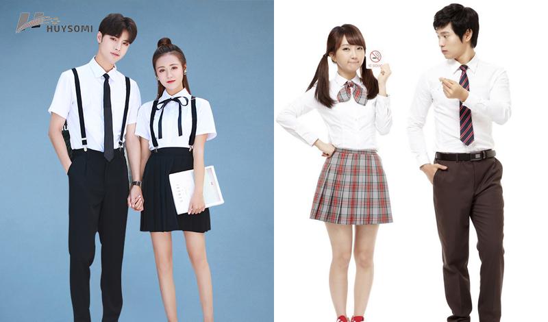 Váy đồng phục học sinh nữ cấp 2