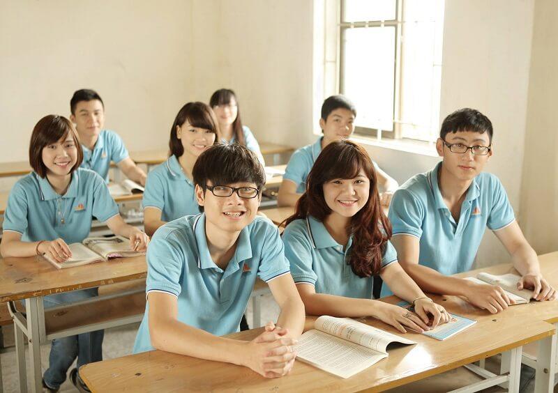 Áo phông đồng phục học sinh cấp 3