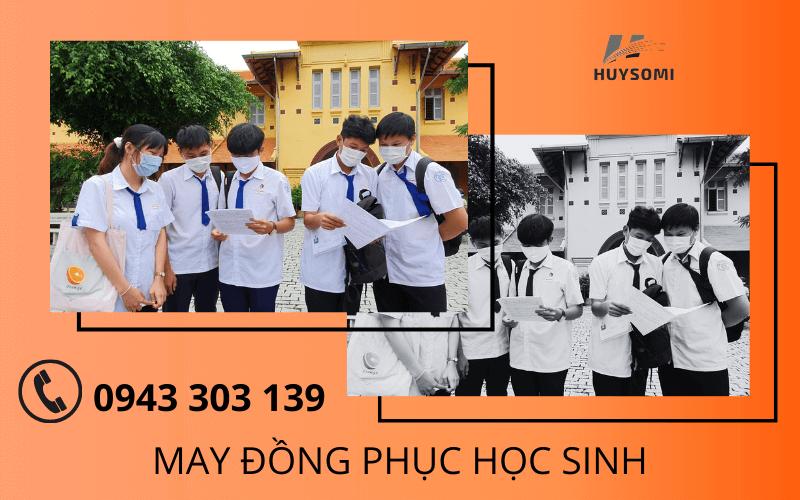 May đồng phục học sinh cấp 3 - THPT ở TPHCM mẫu ĐẸP & UY TÍN