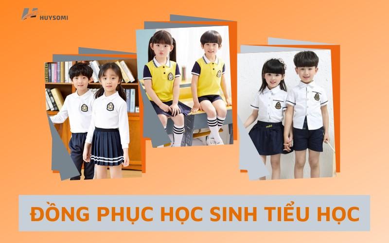 Đồng phục học sinh tiểu học theo phong cách Hàn Quốc, Nhật Bản