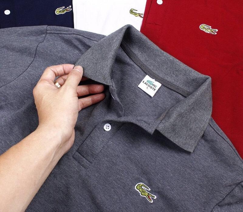 Xưởng may áo thun cá sấu giá rẻ TPHCM