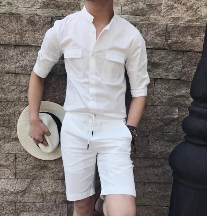 Xưởng may quần short kaki nam
